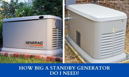 How Big A Standby Generator Do I Need?