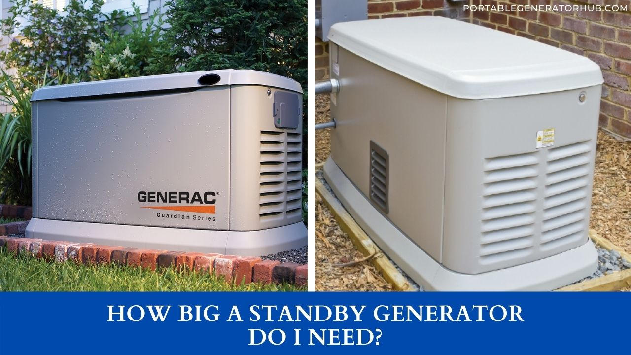 How Big A Standby Generator Do I Need