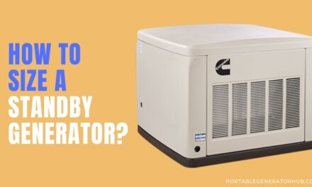 How To Size a Standby Generator? 4 Easy Steps