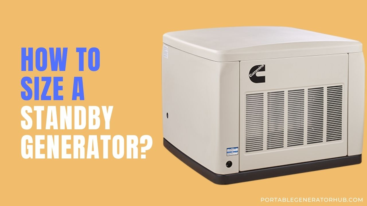 How To Size a Standby Generator