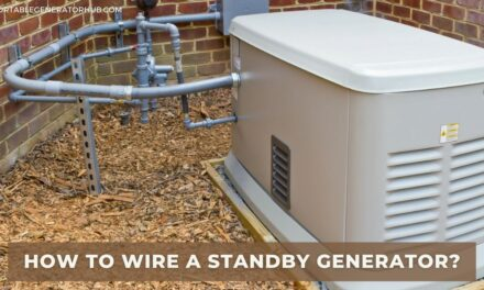 How To Wire a Standby Generator? 4 Easy Steps