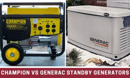 Champion VS Generac Standby Generators – Which Is Right For You?