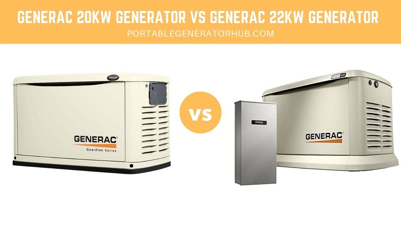 Generac 20kW Generator VS Generac 22kW Generator