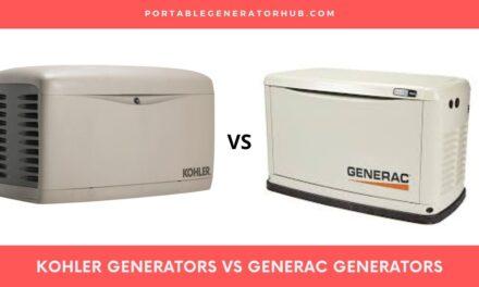 Kohler Generators VS Generac Generators – Which is Best for You?