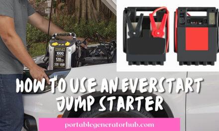 How To Use An Everstart Jump Starter? 8 Easy Steps