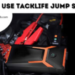 How To Use Tacklife Jump Starter | T6 800A, T8 800A, T8 PRO 1200A, T6 600A