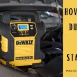 How To Use A Dewalt Jump Starter Like A PRO? 8 Easy Steps