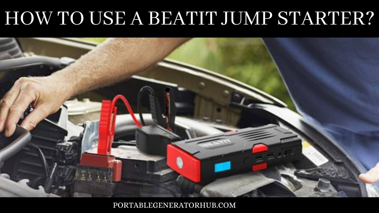How To Use A Beatit Jump Starter
