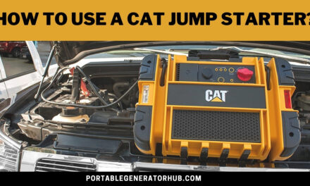 How To Use A Cat Jump Starter? 8 Easy Steps To Follow