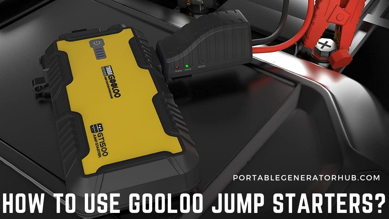 How To Use Gooloo Jump Starters